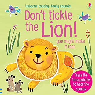 Don't Tickle The Lion - Boardbook