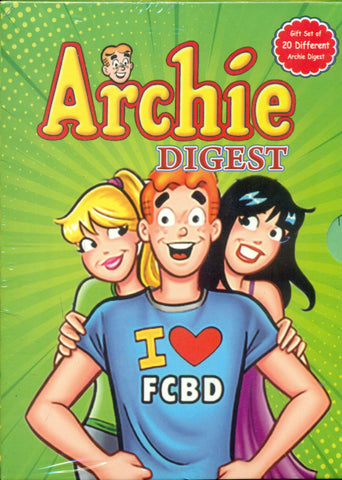 Archie Digest Gift Set Of 20 Different Archie Digest Paperback
