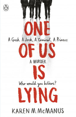 One of Us Is Lying #1 : One of Us Is Lying - Kool Skool The Bookstore