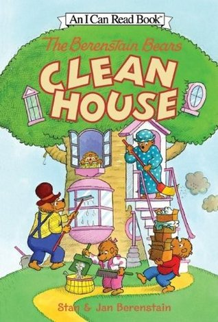 I Can Read Level 1 : The Berenstain Bears Clean House - Paperback