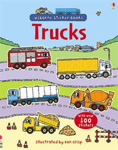 Trucks Sticker Book - Paperback