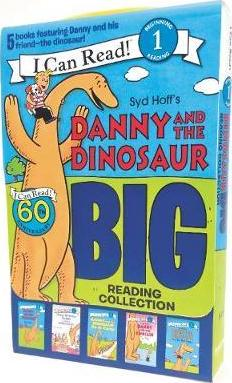 I Can Read #1 : Danny and the Dinosaur : Big Reading Collection : 5 Books Box Set - Paperback