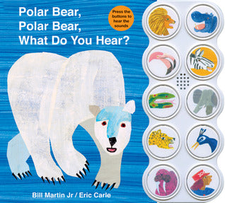 Polar Bear, Polar Bear What Do You Hear? Sound Book - Board Book - Kool Skool The Bookstore
