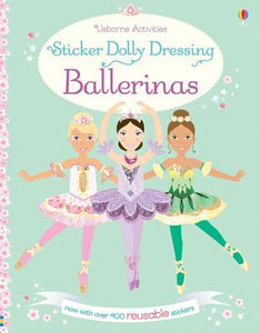 Sticker Dolly Dressing Ballerinas - Paperback