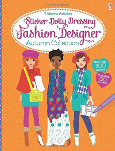 Sticker Dolly Dressing Fashion Designer Autumn Collection - Paperback