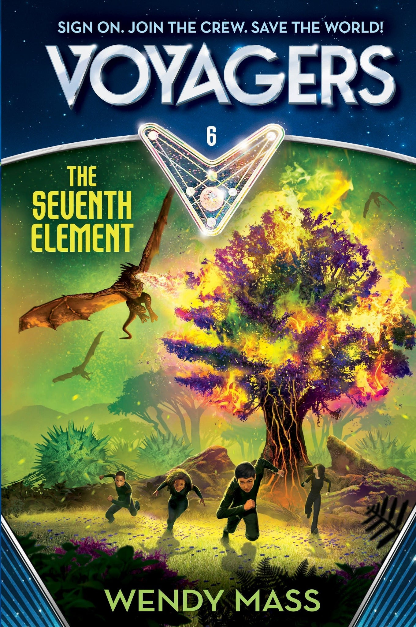 Voyagers #6 : The Seventh element - Hardback