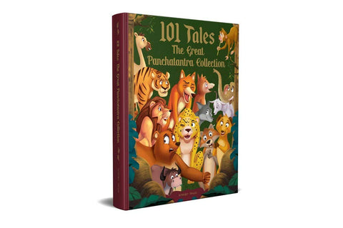 101 Tales The Great Panchatantra Collection - Hardback