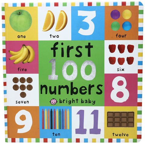 First 100 Board Books First 100 Numbers - Hardback