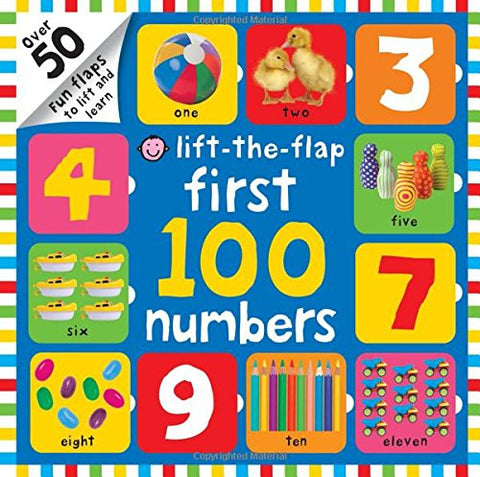 First 100 Lift The Flap Numbers - Hardback