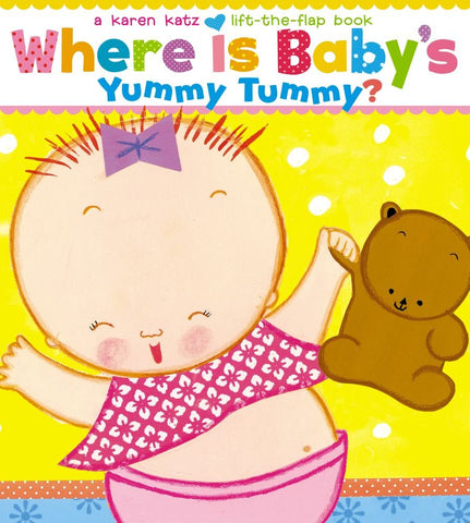Where Is Baby's Yummy Tummy? - Board Book