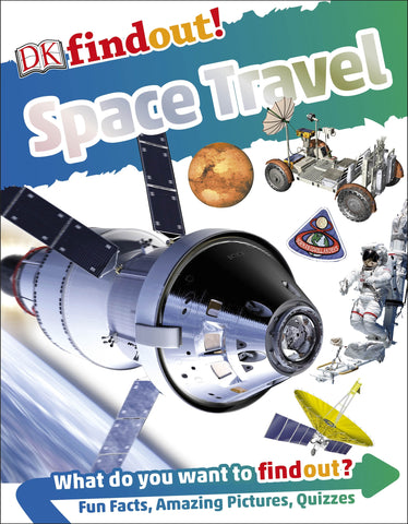 DK Findout : Space Travel - Paperback - Kool Skool The Bookstore
