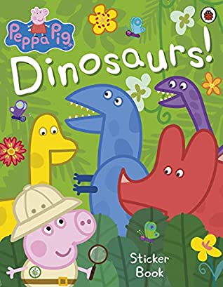 Peppa Pig : Dinosaurs! Sticker Book - Kool Skool The Bookstore