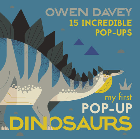 My First Pop-Up Dinosaurs: 15 Incredible Pop-Ups - Hardback