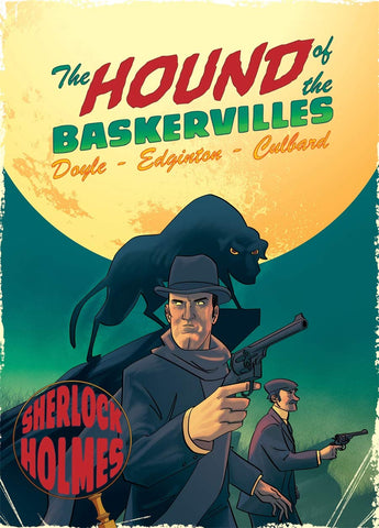 Hound of the Baskervilles: A Sherlock Holmes Graphic Novel - Paperback
