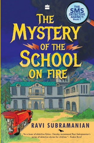 Mystery of the School on Fire - Paperback