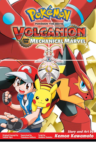 Pokémon the Movie: Volcanion and the Mechanical Marvel - Paperback