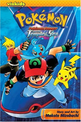 Pokémon Ranger and the Temple of the Sea - Paperback