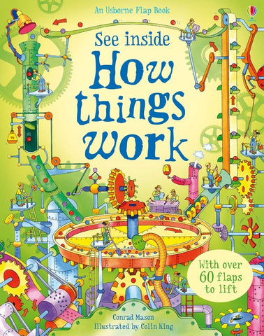 Usborne See Inside How Things Work - Hardback
