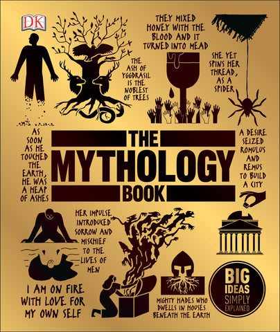 Big Ideas Simply Explained : The Mythology Book - Hardback - Kool Skool The Bookstore
