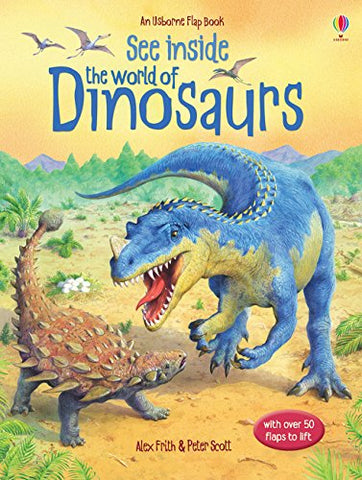 Usborne See Inside the World of Dinosaurs - Hardback