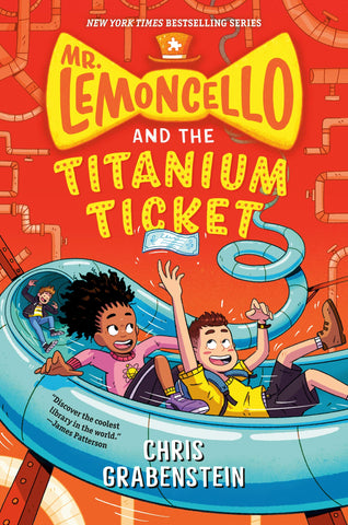 Mr. Lemoncello and the Titanium Ticket - Paperback