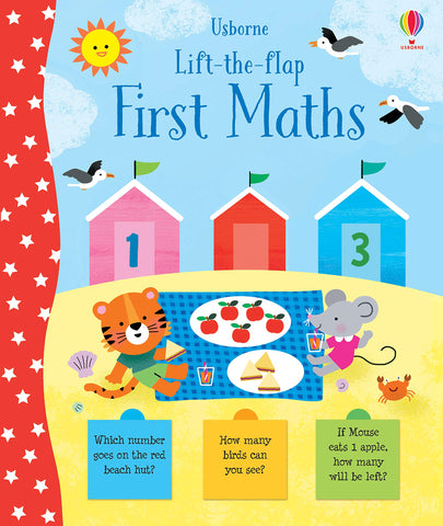 Usborne Lift-the-Flap First Maths - Hardback