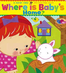 Where Is Baby's Home? - Board Book