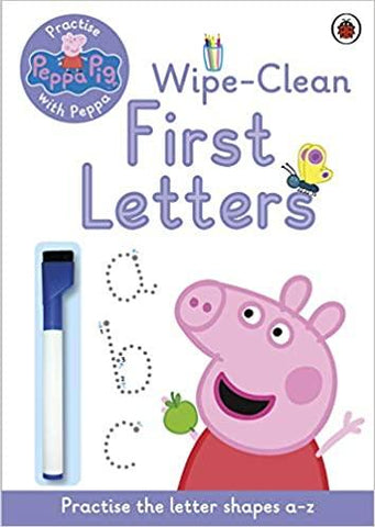 Peppa Pig : Practise with Peppa First Letters - Paperback - Kool Skool The Bookstore