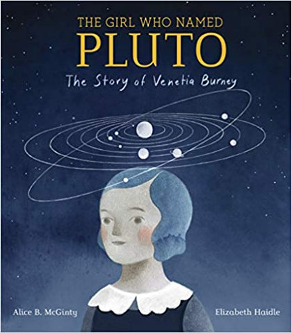 THE GIRL WHO NAMED PLUTO - Hardback - Kool Skool The Bookstore