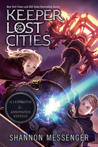 Keeper of the Lost Cities Illustrated & Annotated Edition: Book One - Paperback