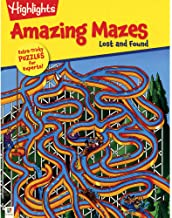 Highlights Amazing Mazes Lost and Found - Kool Skool The Bookstore