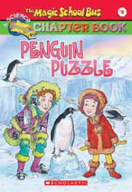 The Magic School Bus Chapter Book #08 : Penguin Puzzle - Kool Skool The Bookstore