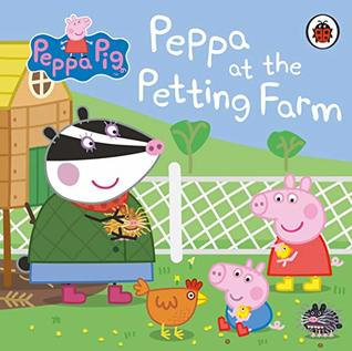 Peppa Pig : Peppa at The Petting Farm (Board Book) - Kool Skool The Bookstore