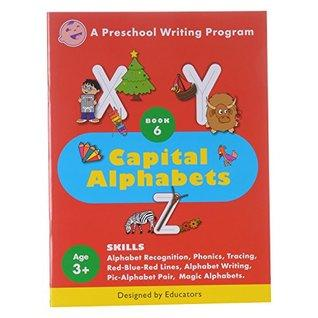A Pre-school Writing Program Capital Alphabets - Kool Skool The Bookstore