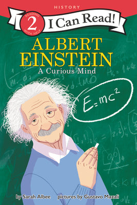 I Can Read Level #2 : Albert Einstein: A Curious Mind - Paperback