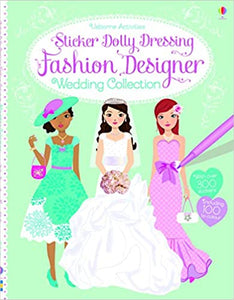 Sticker Dolly Dressing Fashion Designer Wedding Collection - Kool Skool The Bookstore