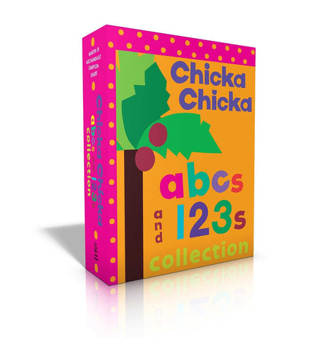 Chicka Chicka ABCs and 123s Collection - Boardbook