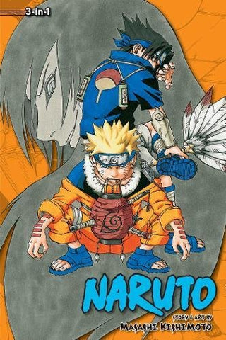 Naruto (3-in-1 Edition), Vol. 3: Includes vols. 7, 8 & 9  - Paperback