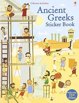 Ancient Greeks Sticker Book - Paperback