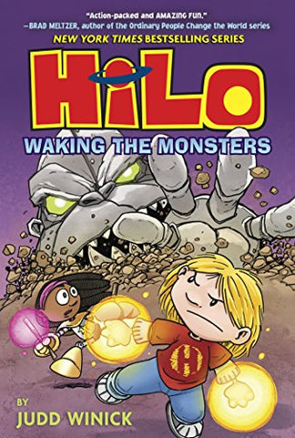 Hilo 4 : Waking The Monsters - Hardback - Kool Skool The Bookstore