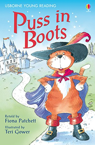Usborne Young Reading Lev-1 : Puss in Boots - Kool Skool The Bookstore