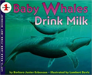 Let's Read and Find Out Science lev-1 : Baby Whales Drink Milk - Kool Skool The Bookstore
