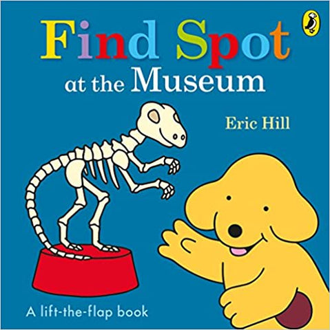 FIND SPOT AT THE MUSEUM - Kool Skool The Bookstore