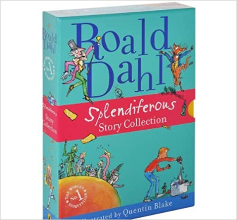 Roald Dahl Splendiferous Story Collection Boxed Set - Paperback - Kool Skool The Bookstore