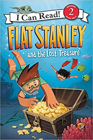 I Can Read Level 2 : Flat Stanley and the lost Treasure - Kool Skool The Bookstore