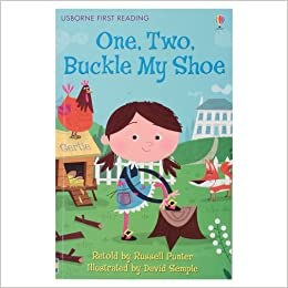 Usborne First Reading Level 2 : One Two Buckle my Shoe - Kool Skool The Bookstore