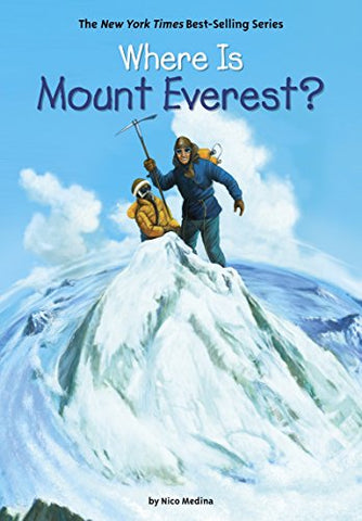 Where Is Mount Everest? - Paperback - Kool Skool The Bookstore
