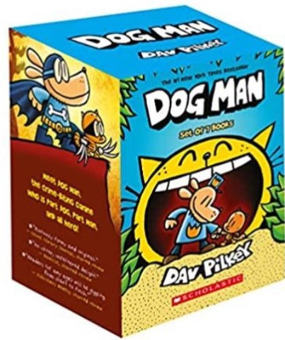 Dog Man Box Set (Set of 7 Books) - Hardback - Kool Skool The Bookstore