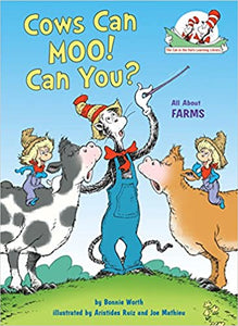 Dr Seuss : The Cat In The Hat : Cows can moo! can you? - Hardback - Kool Skool The Bookstore