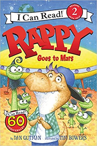 I Can Read Level 2 : Rappy Goes to Mars - Kool Skool The Bookstore